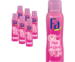 Deodorant spray pink passion 6 pack